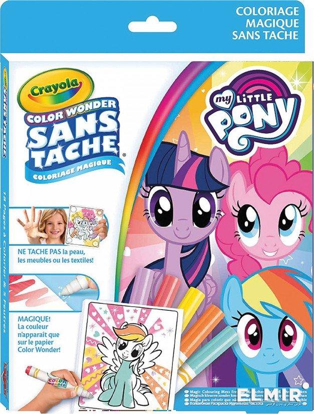 Книга-раскраска Crayola My Little Pony Color Wonder (75 ...